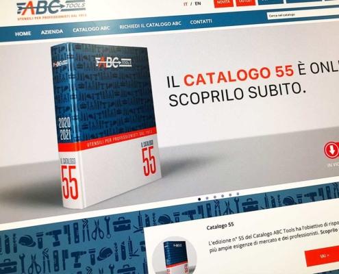 Realizzazione sito web abc tools