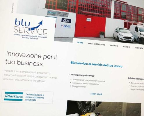 realizzazione sito blu service