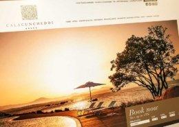 realizzazione sito hotel cala cuncheddi