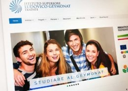 realizzazione sito web itis geymonat