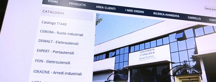 Sviluppo ecommerce B2B Facchinetti