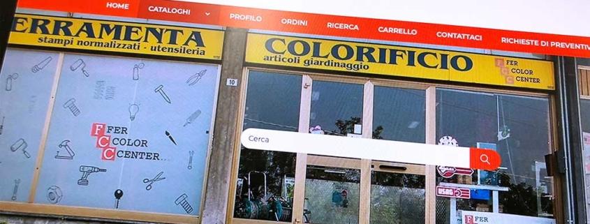 Sviluppo ecommerce B2B Fer Color Center