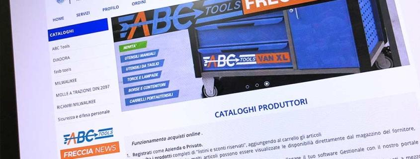 Sviluppo ecommerce B2B Tecnoferramenta