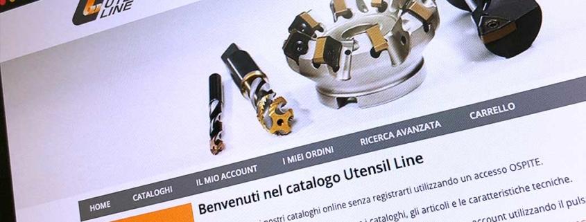 Sviluppo ecommerce B2B Utensil Line