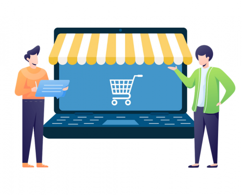 aprire un negozio online