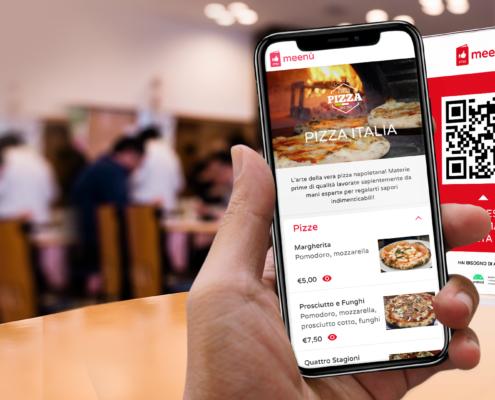 menù digitale per ristoranti