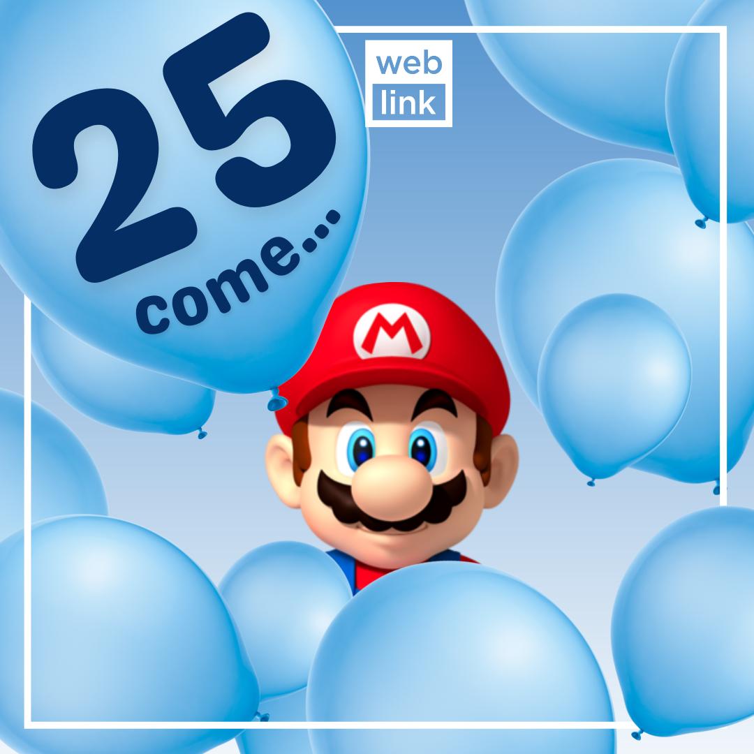 ...come Super Mario